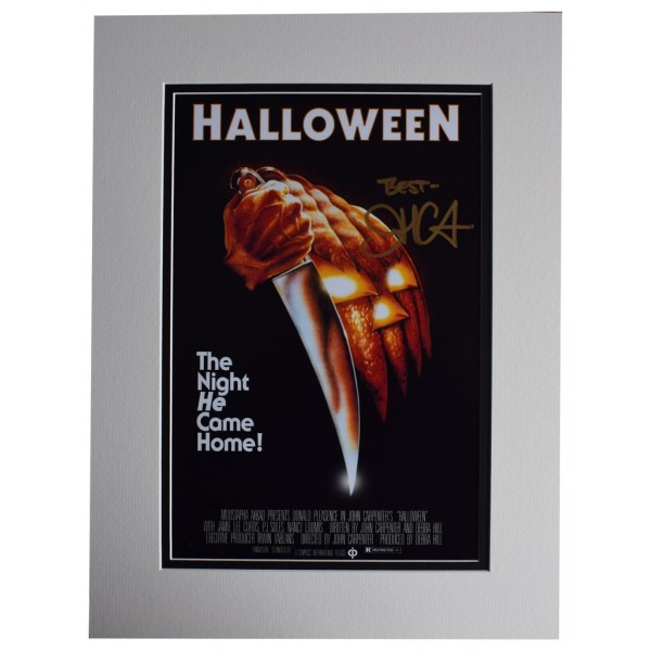John Carpenter SIGNED autograph 16x12 photo display Halloween Film  AFTAL  COA Memorabilia PERFECT GIFT
