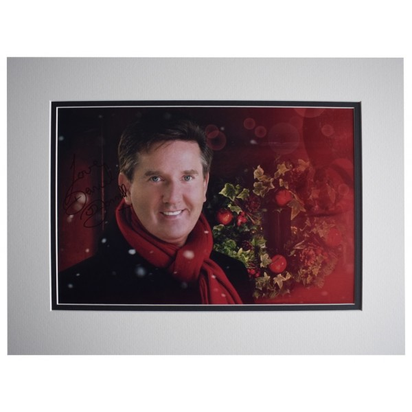 Daniel O'Donnell SIGNED autograph 16x12 photo display Music AFTAL  COA Memorabilia PERFECT GIFT