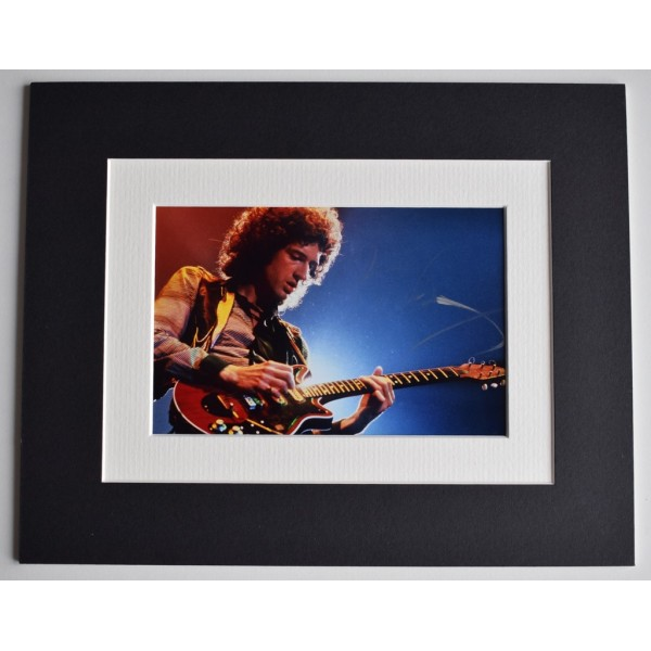 Brian May Signed Autograph 10x8 photo display music Queen  Memorabilia  AFTAL & COA PERFECT GIFT