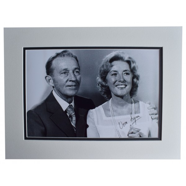 Vera Lynn SIGNED autograph 16x12 photo display WW2 Forces Music   AFTAL  COA Memorabilia PERFECT GIFT