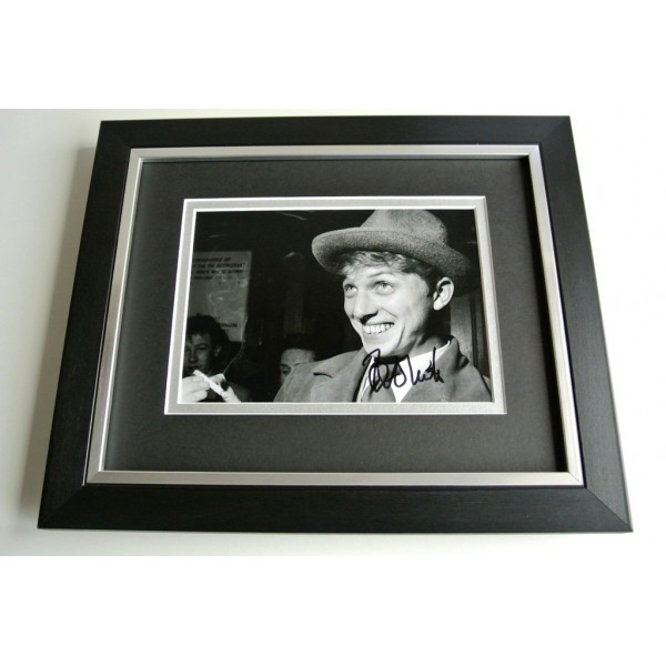 Tommy Steele SIGNED 10X8 FRAMED Photo Autograph Display Music Film AFTAL & COA  Memorabilia PERFECT GIFT