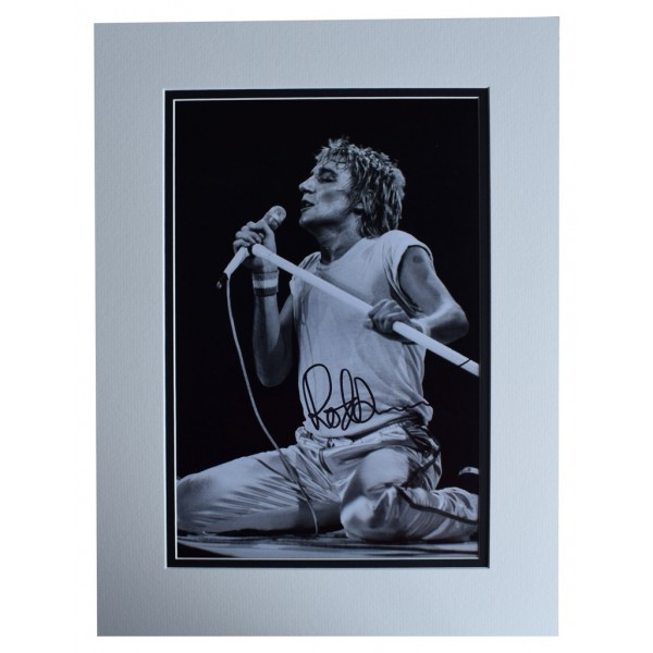 Rod Stewart SIGNED autograph 16x12 photo display  Music   AFTAL  COA Memorabilia PERFECT GIFT