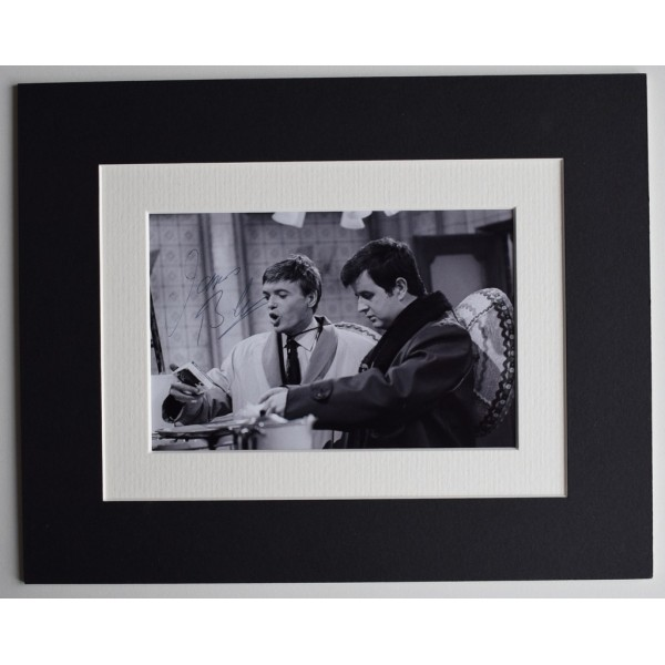 James Bolam Signed Autograph 10x8 photo display Likely Lads TV Comedy   Memorabilia  AFTAL & COA PERFECT GIFT