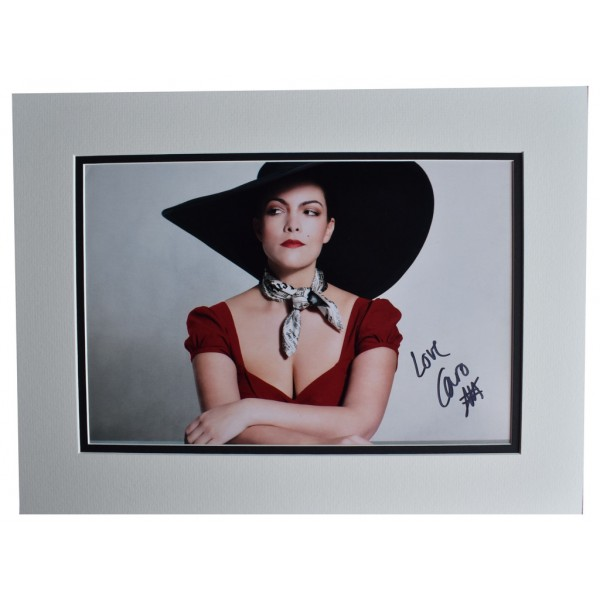 Caro Emerald SIGNED autograph 16x12 photo display Liquid Lunch Music AFTAL  COA Memorabilia PERFECT GIFT