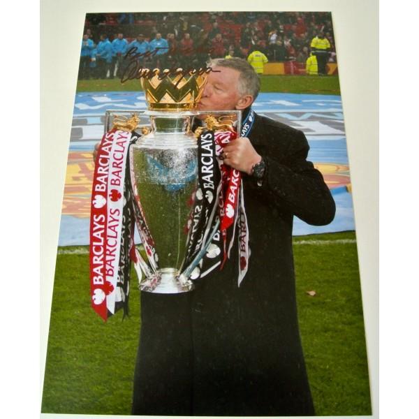 Alex Ferguson SIGNED Autograph 12X8 Photo Manchester United Football & COA