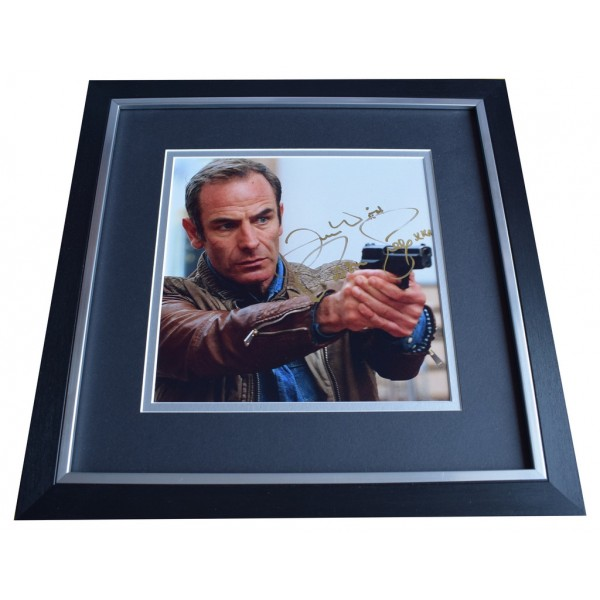 Robson Green SIGNED Framed LARGE Square Photo Autograph Strike Back TV  AFTAL  COA Memorabilia PERFECT GIFT