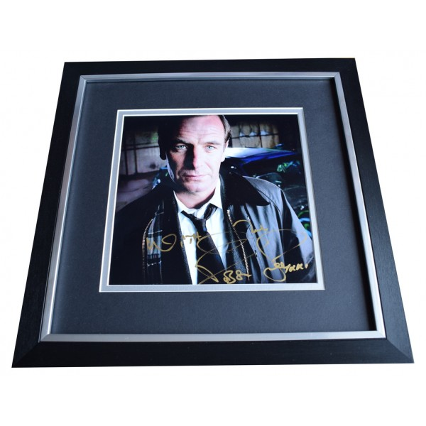 Robson Green SIGNED Framed LARGE Square Photo Autograph Wire in the Blood TV AFTAL  COA Memorabilia PERFECT GIFT