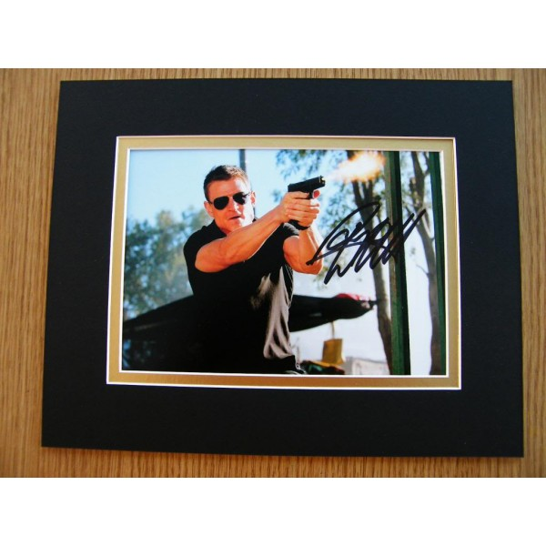 PHILIP WINCHESTER HAND SIGNED AUTOGRAPH 10X8 PHOTO MOUNT STRIKE BACK & COA