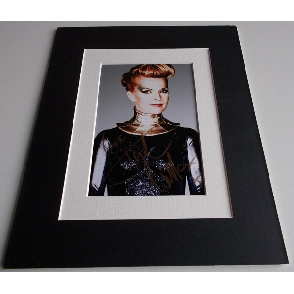 Toyah Willcox Signed Autograph 10x8 photo display Its a Mystery Music AFTAL & COA Memorabilia PERFECT GIFT