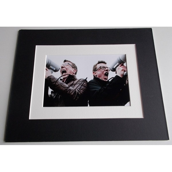 The Proclaimers Signed Autograph 10x8 photo mount display Music AFTAL & COA Memorabilia PERFECT GIFT