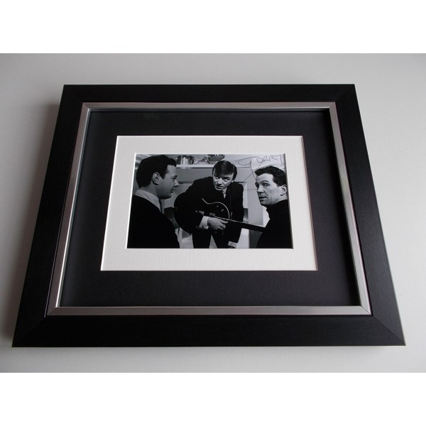 Gerry Marsden SIGNED 10x8 FRAMED Photo Autograph Display Pacemakers Music AFTAL & COA Memorabilia PERFECT GIFT