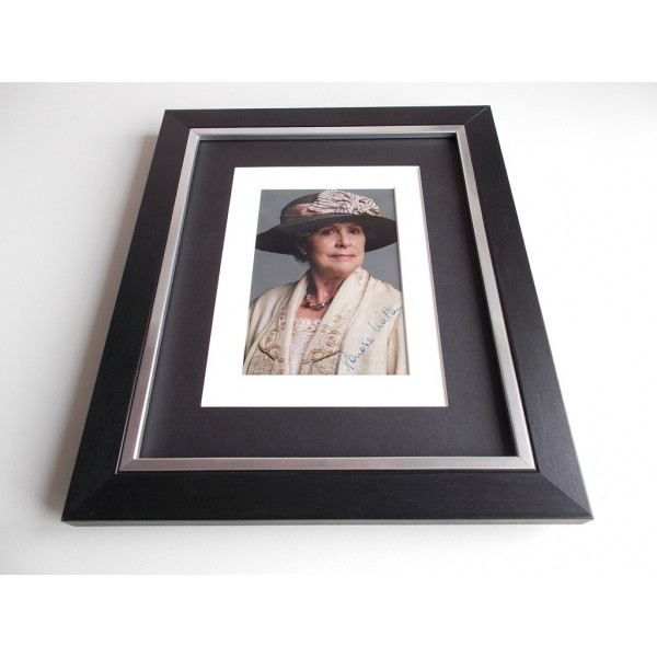 Penelope Wilton SIGNED 10x8 FRAMED Photo Autograph Display Downton Abbey TV  AFTAL & COA Memorabilia PERFECT GIFT