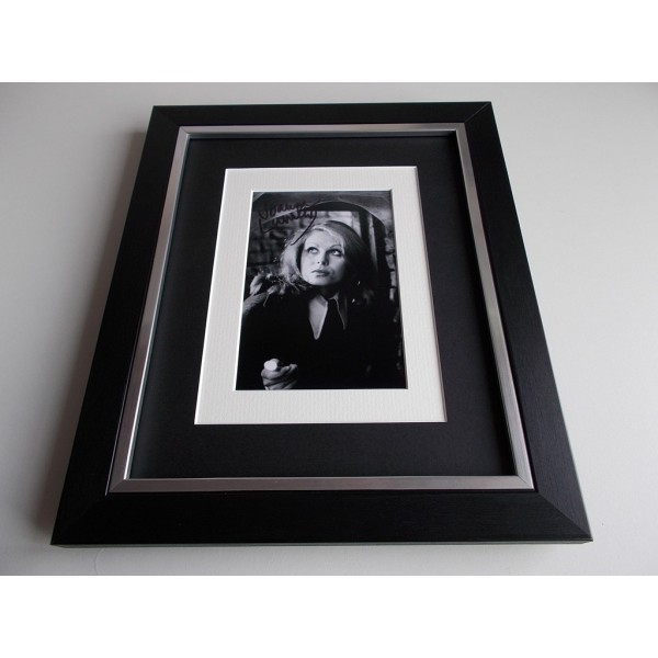 Joanna Lumley SIGNED 10x8 FRAMED Photo Autograph Display Absolutely Fabulous  AFTAL & COA Memorabilia PERFECT GIFT
