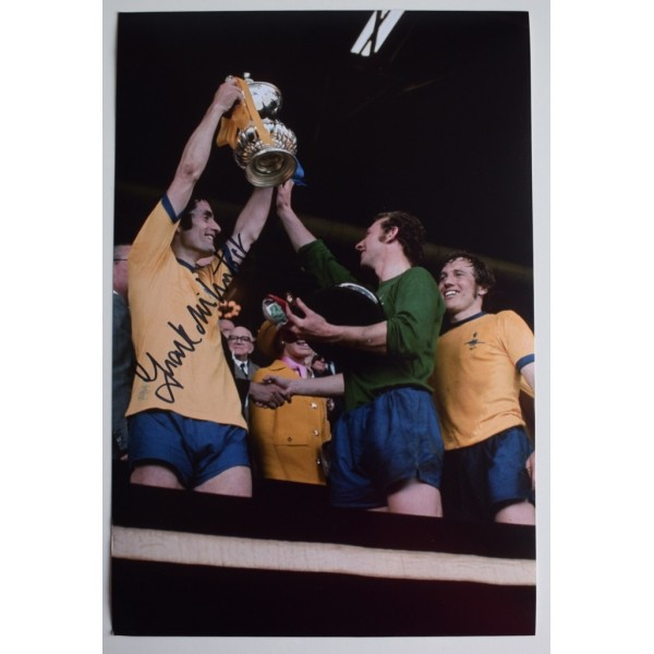 Frank McLintock SIGNED 12x8 Photo Autograph Football Arsenal Football   AFTAL &  COA Memorabilia