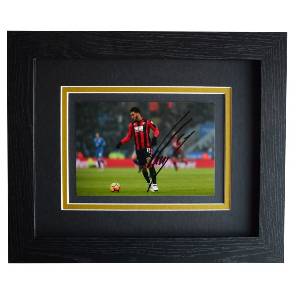 Joshua King Signed 10x8 Framed Autograph Photo Display Bournemouth COA Perfect Gift Memorabilia