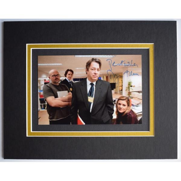 Roger Allam Signed Autograph 10x8 photo display Thick of It TV AFTAL COA  Perfect Gift Memorabilia