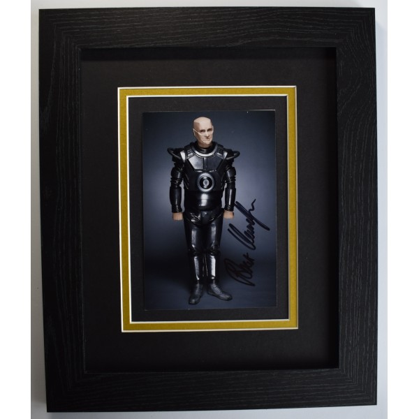 Robert Llewellyn Signed 10x8 Framed Autograph Photo Display Red Dwarf TV COA Perfect Gift Memorabilia
