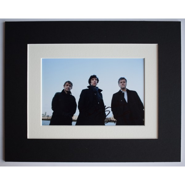 Rupert Graves Signed Autograph 10x8 photo mount display Sherlock TV AFTAL COA Perfect Gift Memorabilia