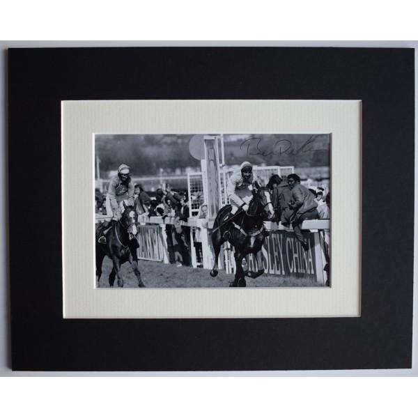 Ben de Haan Signed Autograph 10x8 photo display Horse Racing Sport AFTAL COA  Perfect Gift Memorabilia