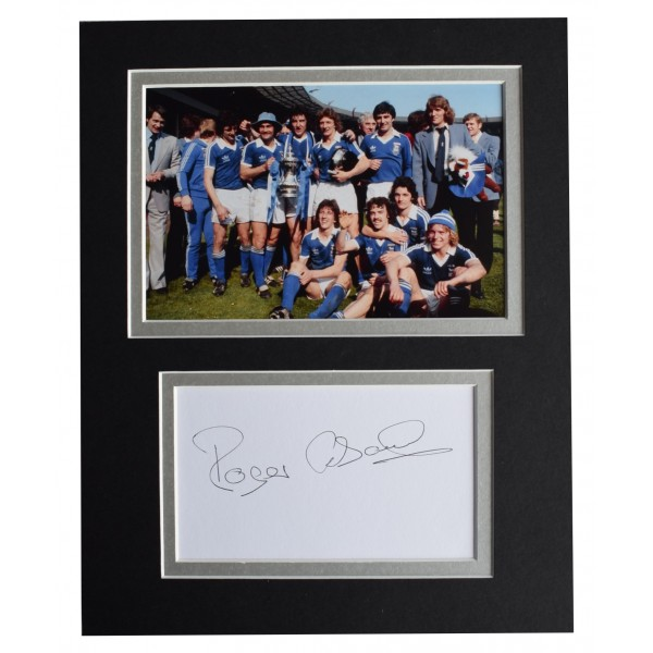 Roger Osborne Signed Autograph 10x8 photo display Ipswich Town AFTAL COA Perfect Gift Memorabilia